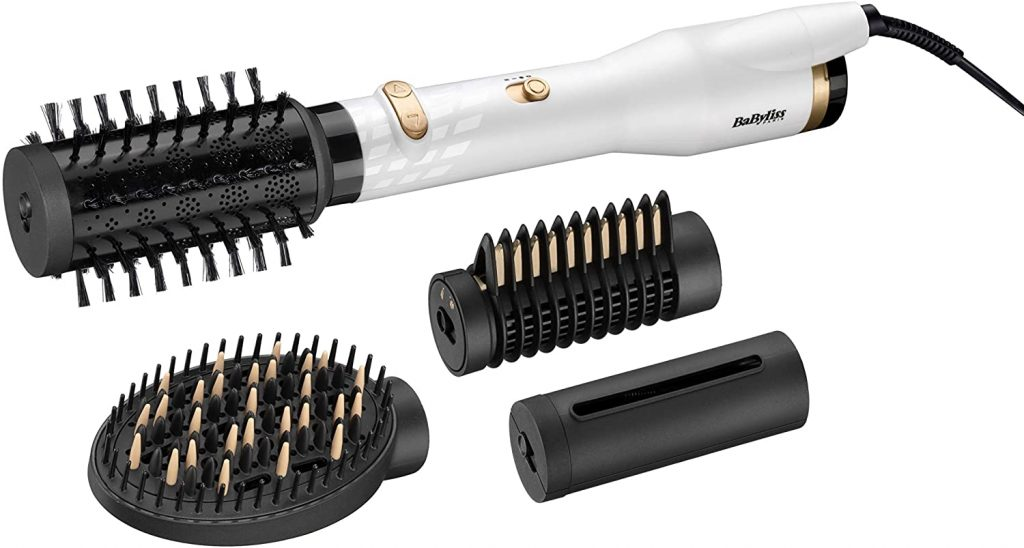 Babyliss brosse soufflante White and Gold